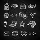 Internet Chalkboard Icons - GraphicRiver Item for Sale
