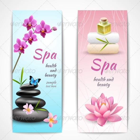 GraphicRiver Spa Vertical Banners 7555153