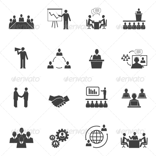 GraphicRiver Meet People Online Icons 7555200