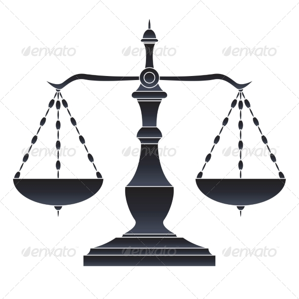 GraphicRiver Scales of Justice 7555291