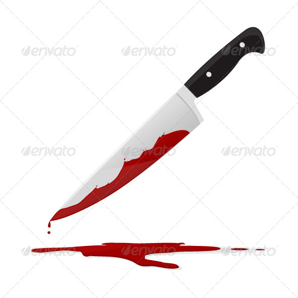 GraphicRiver Bloody Knife 7555385