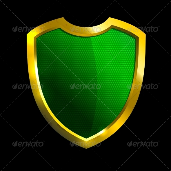 GraphicRiver Golden Shield 7555490