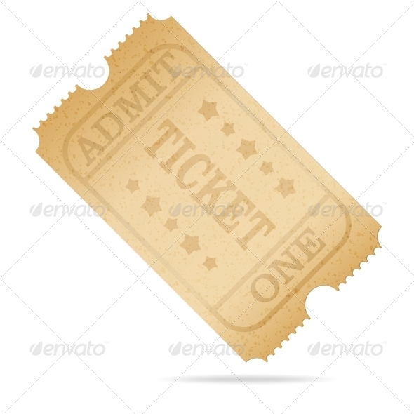 GraphicRiver Old Ticket 7555503