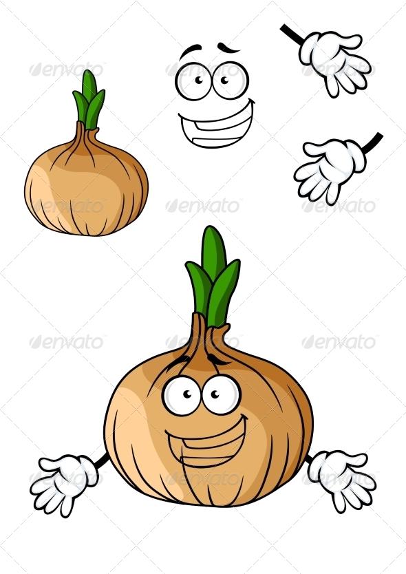 GraphicRiver Onion Cartoon 7555654