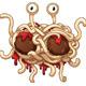 Download Vector Flying Spaghetti Monster
