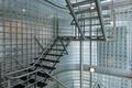 Steel stairway in a modern office building - PhotoDune Item for Sale