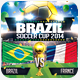 Brazil Soccer Cup 2014 - GraphicRiver Item for Sale
