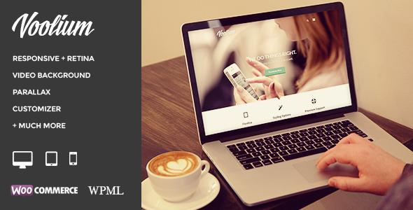 Voolium - Flexible Multi-Purpose Wordpress Theme