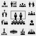 Business conference and presentation icons - PhotoDune Item for Sale