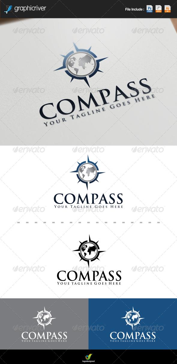 GraphicRiver Compass Logo 7558000