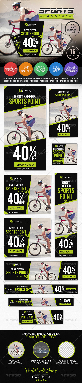 GraphicRiver Sports Shop Banner Set 7558334