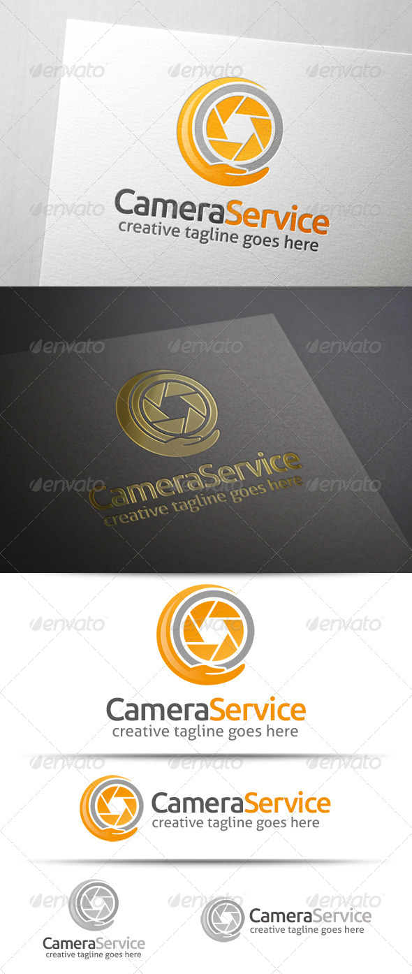 GraphicRiver Camera Service Logo 7558665