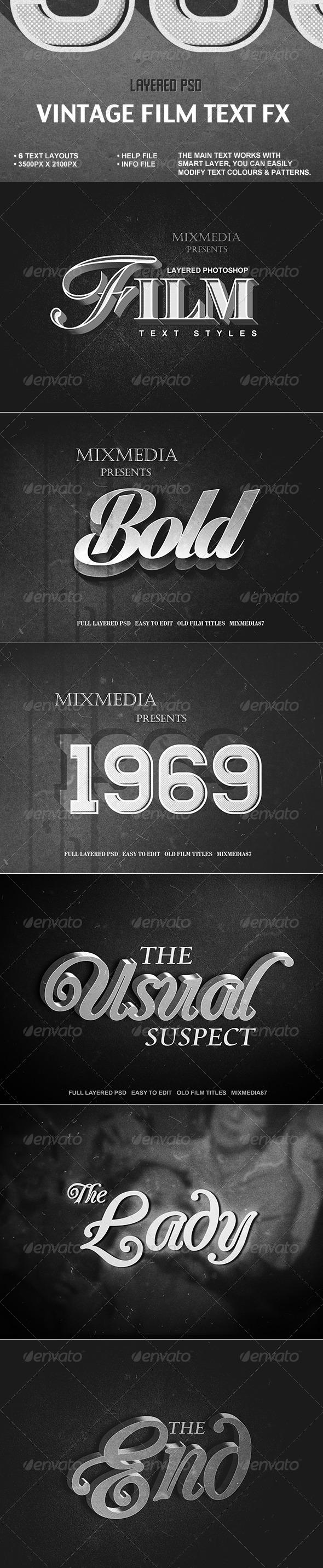 GraphicRiver Old Film Title Fx 7558745