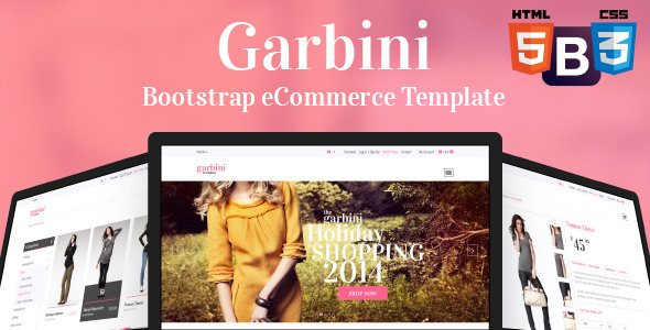 ThemeForest Garbini Bootstrap eCommerce Template 7494288