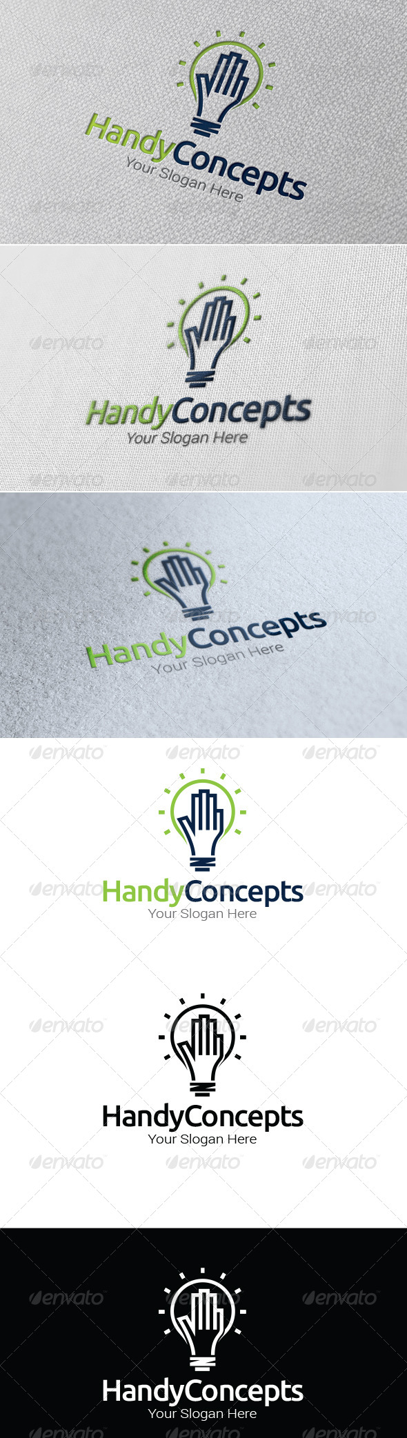 GraphicRiver Handy Concepts Logo Template 7559573