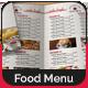 Bi-Fold A4 Food Menu Template - GraphicRiver Item for Sale