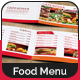 8 Pages Landscape A5 Food Menu - GraphicRiver Item for Sale