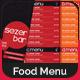 Bi-Fold Drink Menu Template 1 - GraphicRiver Item for Sale