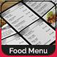Modern Food Menu Design - GraphicRiver Item for Sale