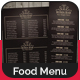 Elegant Bar Menu Template - GraphicRiver Item for Sale