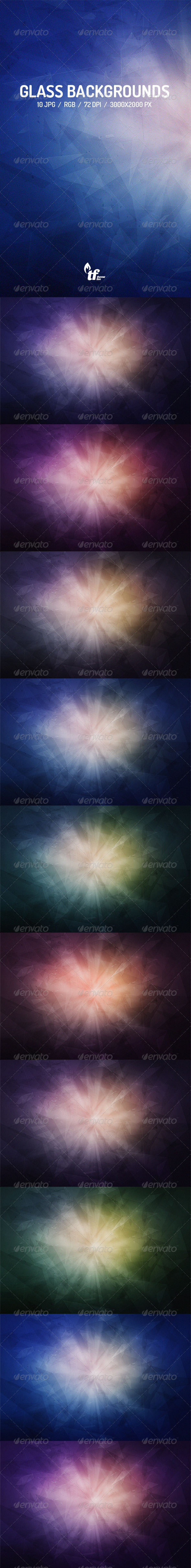 GraphicRiver Broken Glass Backgrounds 7560738