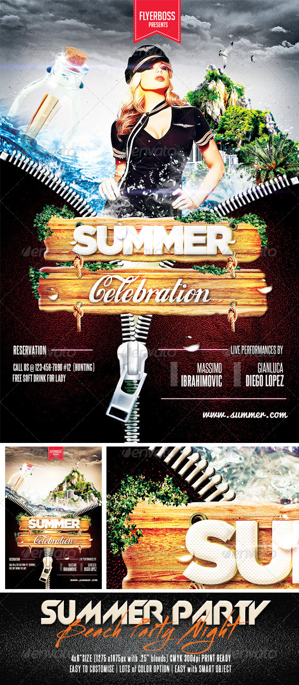 GraphicRiver Summer Party 7560805