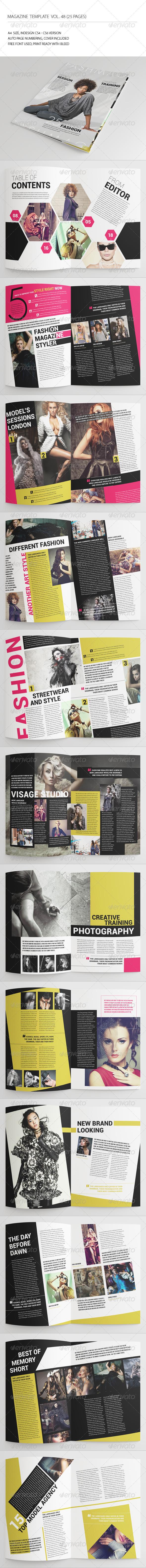 GraphicRiver 25 Pages Fashion Magazine Vol48 7561659