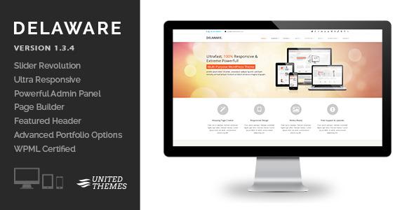 Delaware - Responsive Retina WordPress Theme