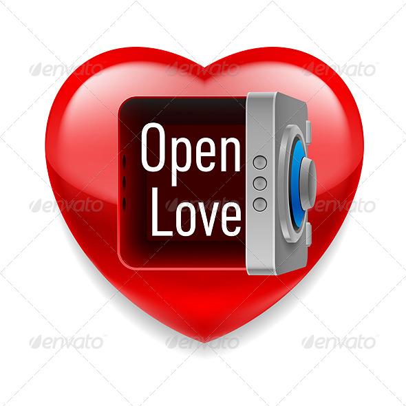 GraphicRiver Open Love Image 7561865