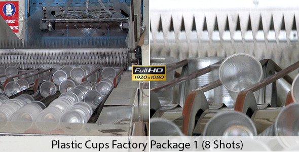 Plastic Cups Factory Package 1