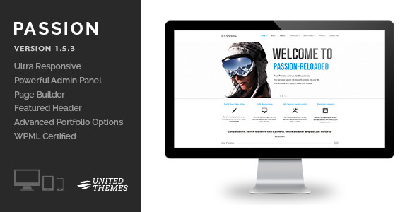 Passion Reloaded - Responsive WordPress Theme