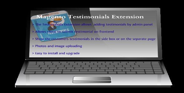 CodeCanyon Magento Testimonials Extension 7563444