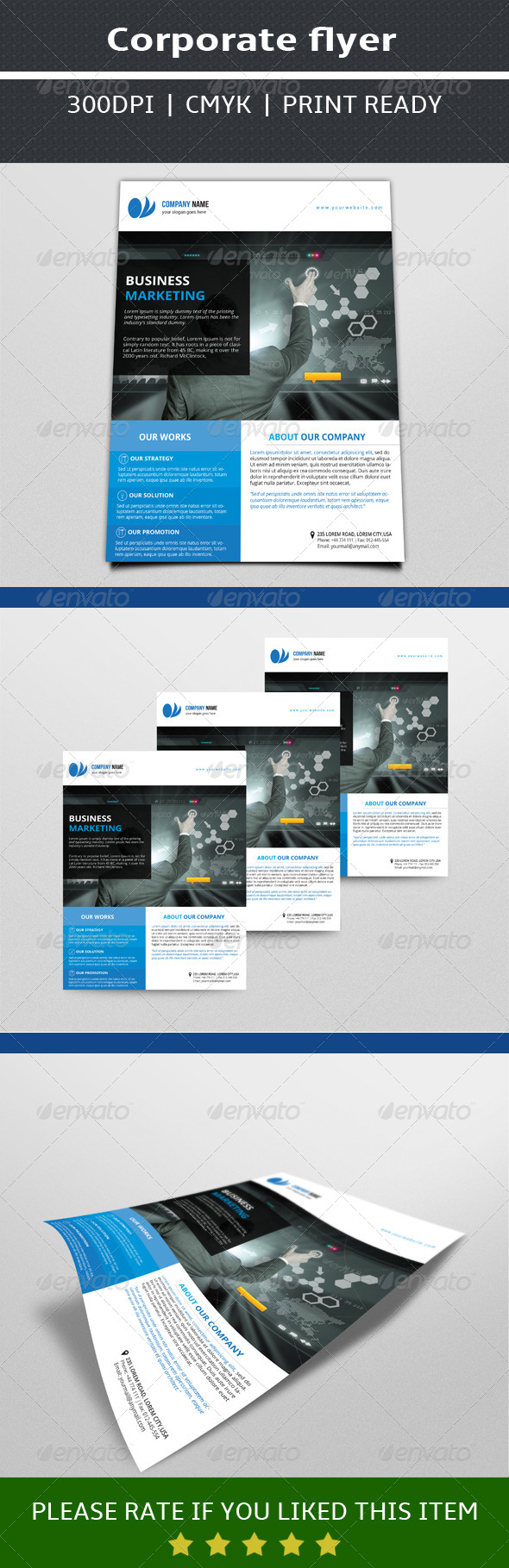 GraphicRiver Business Flyer Template 7563733