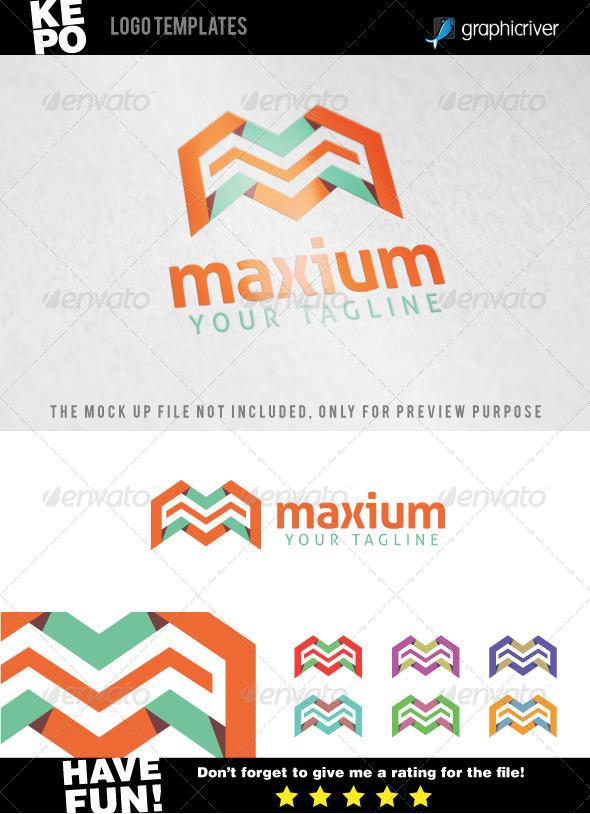 GraphicRiver Maxium M Letter Logo Templates 7563904