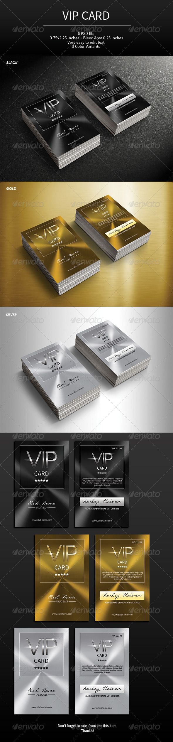 GraphicRiver VIP Card 7564143
