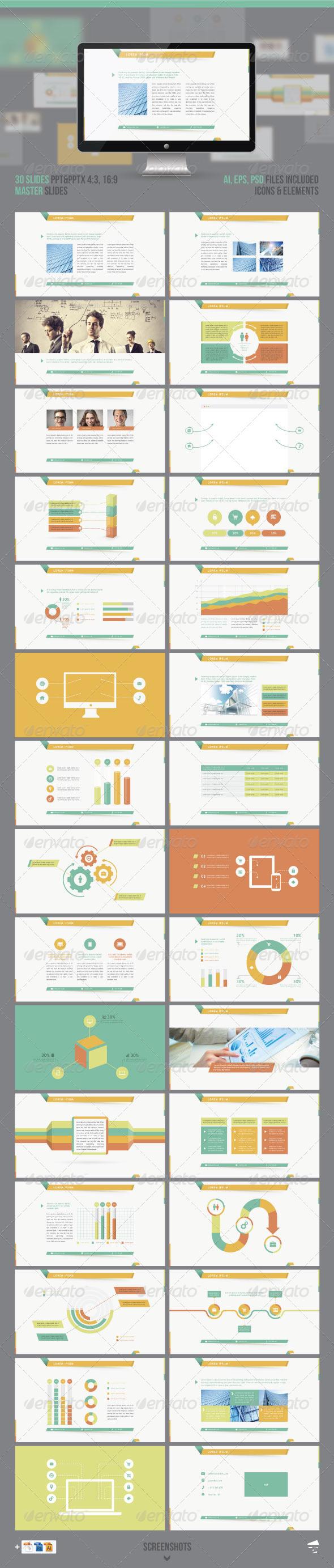 GraphicRiver Infographic Presentation 7530489