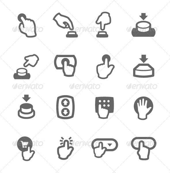 GraphicRiver Buttons Icons 7564468