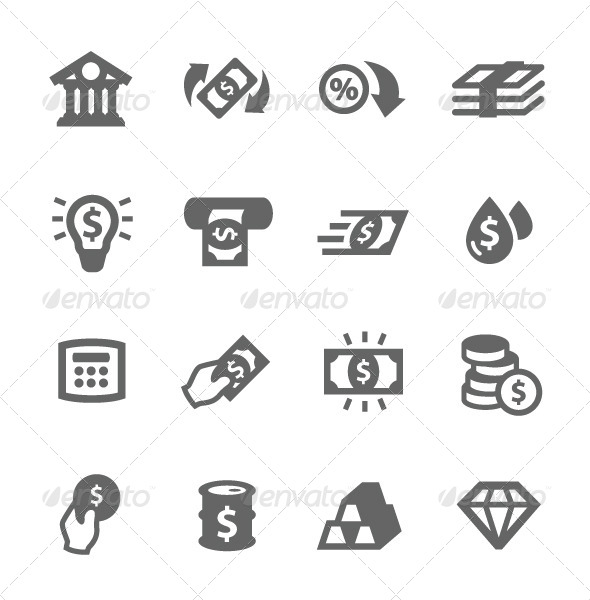 GraphicRiver Banking Icons 7564577