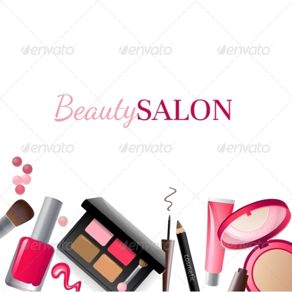 GraphicRiver Glamorous Make-Up Background 7564758