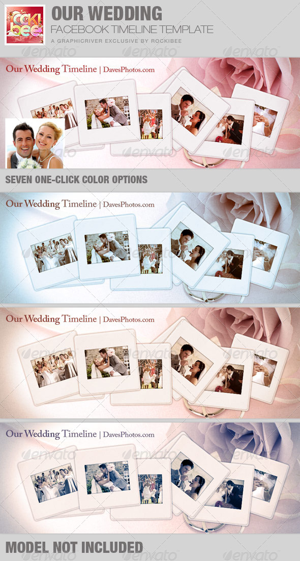 GraphicRiver Our Wedding Facebook Timeline Cover Template 7564918