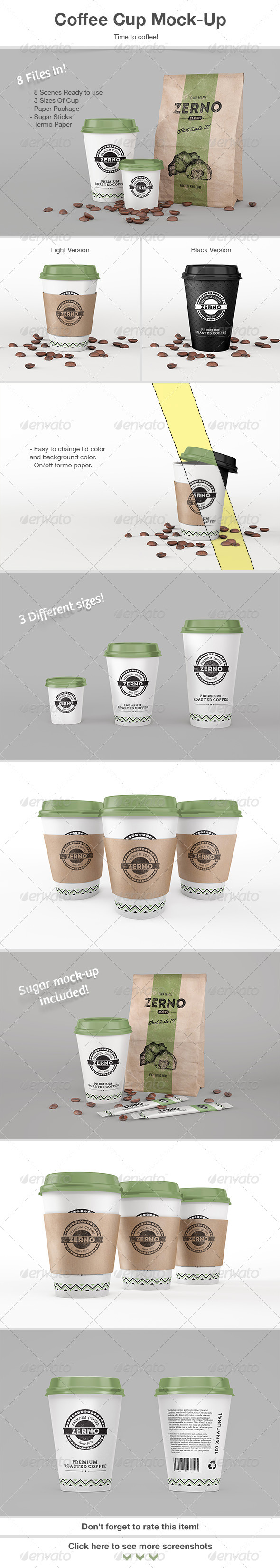 GraphicRiver Coffee Cup Mock-Up 7565417