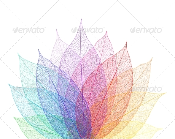GraphicRiver Leaf Abstract Background 7566375