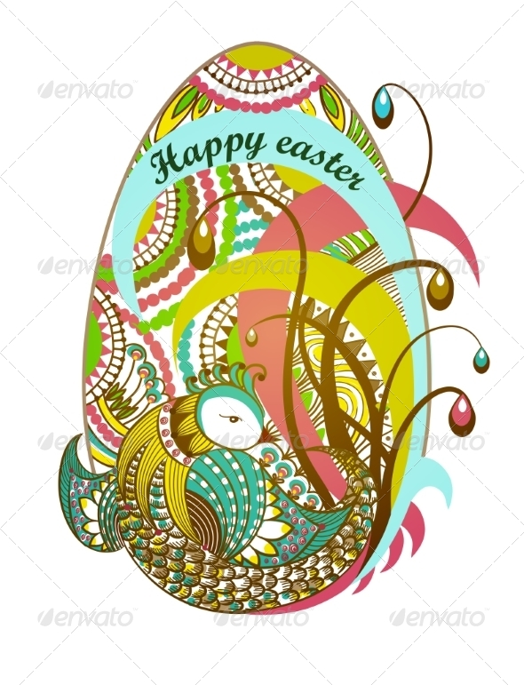 GraphicRiver Easter Egg Happy Easter 7566406