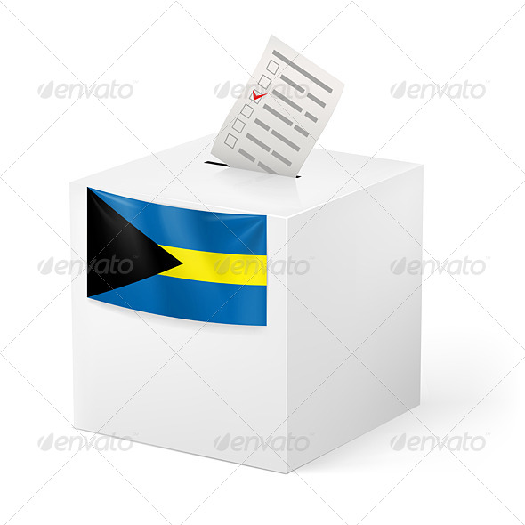 GraphicRiver Ballot Box with Voting Paper 7566423