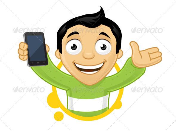 GraphicRiver Smartphone User 7566442