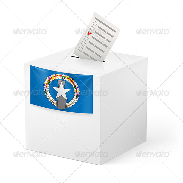 GraphicRiver Ballot Box with Voting Paper 7567025