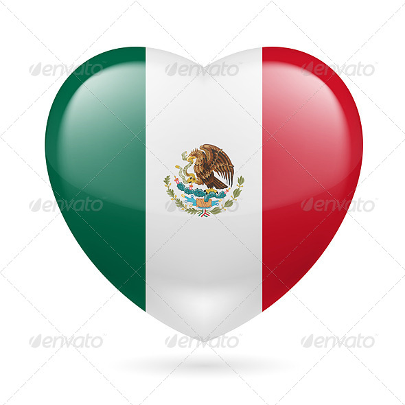 Heart Icon of Mexico