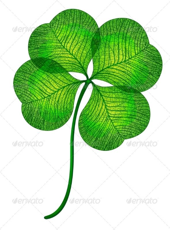 GraphicRiver Four Leaf Clover 7568027