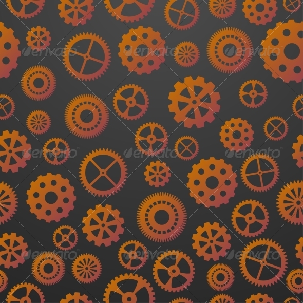 GraphicRiver Gears Seamless Pattern 7568462