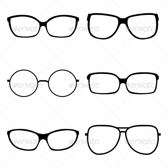 GraphicRiver Set of Sunglasses 7568468